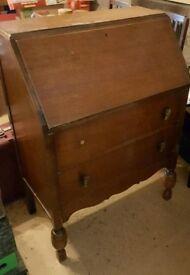 Upcycle Vintage Retro Antique Desk Bureau