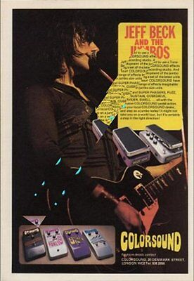 Jeff Beck International Musician Trade Press Advert #1 ABCD