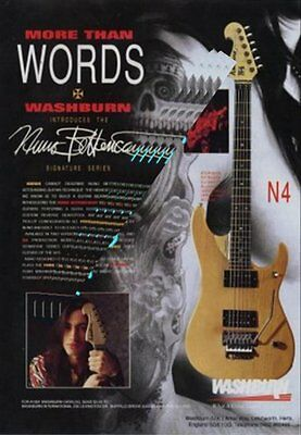 Extreme International Musician Trade Press Advert