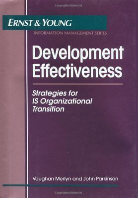 Ernst And Young Information Technology  Development Effectiveness   Strategies
