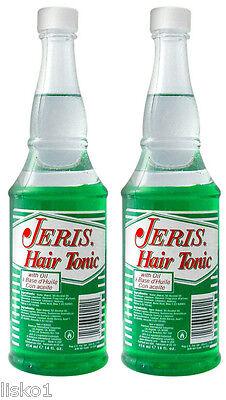Jeris Hair Tonic WITH OIL  2 - 14 oz. Jeris Hair Tonic