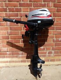 Mercury (Mariner, Tohatsu) 3.5hp Four Stroke Outboard Engine