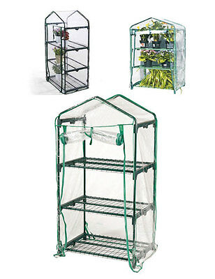 Imperdibile serra copertura da balcone 3 ripiani protezione per piante fiori new