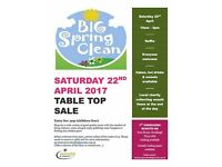 Spring Clean Table Top Sale!! Raising funds for 1st Chudleigh Scout Group