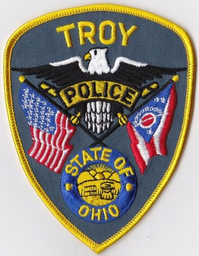 Troy Police Patch Ohio OH