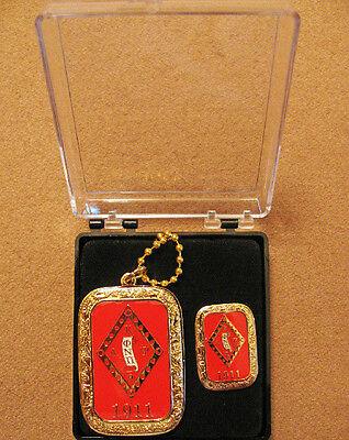 Kappa Alpha Psi Dog Tag and Lapel Gift Box Set