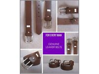 Full Grain Durable Pure One Piece Leather Belt