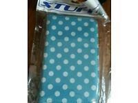 Samsung Galaxy Tab 3 7.0 Light Blue Polka Dot Case
