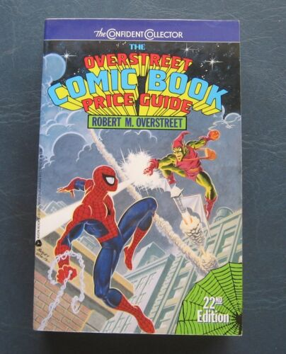 Spiderman & Green Goblin--1992 Overstreet Comic Book Price Guide