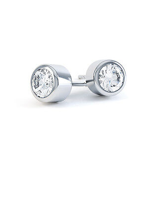 libby cut fully princess diamond set bezel stud product uk earrings