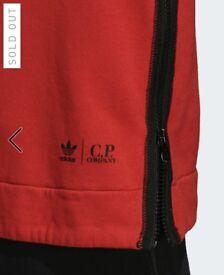 C.P. & Adidas collab hoodie 1 x L