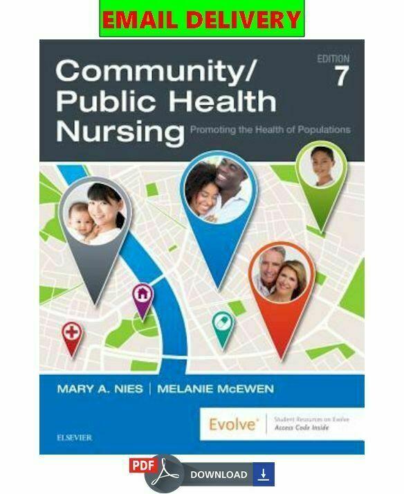 Community/Public Health Nursing: Promoting the Health of Populations ✔️ ᴇʙᴏoᴋ 📩