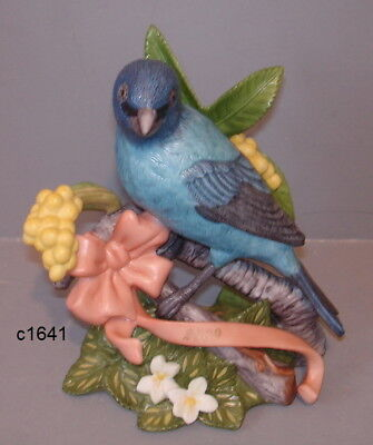 Lenox 2009 INDIGO BUNTING Garden Bird LE - New in Box