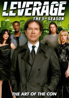 LEVERAGE: THE 3RD SEASON NEW DVD