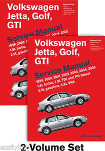 NEW Volkswagen VW Jetta Golf GTI 1999-2005 Bentley Service Repair Manual VG05
