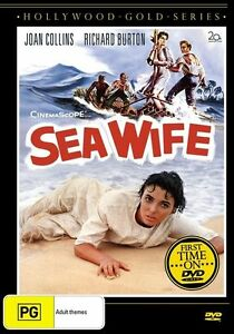 DVD Sea Wife starring Joan Collins, Richard Burton Hollywood Gold Series