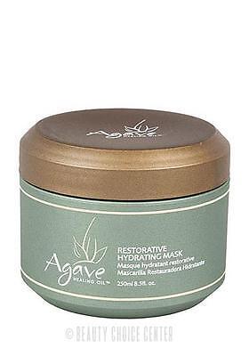Bio Ionic Agave Healing Oil Treatment Restorative Hydrating Mask 8.5oz