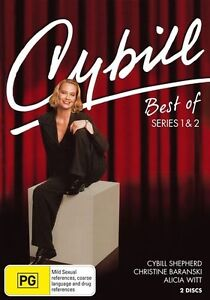Cybill - Best Of : Series 1-2 (DVD, 2009, 2-Disc Set) New Sealed