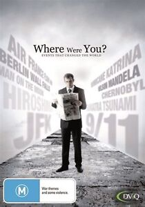 Where Were You? - Events That Changed The World (DVD, 2011, 5-Disc Set)