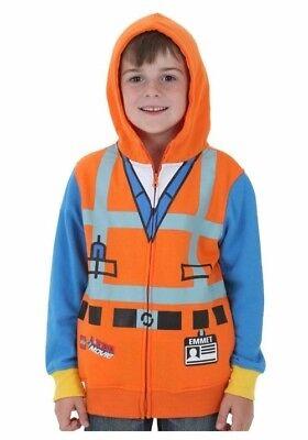 Kids Lego Movie Emmet Costume Sweatshirt Hoodie](Lego Emmet Costume)