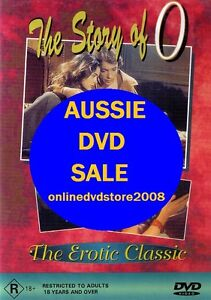 THE STORY OF 'O' - Cult Erotic Drama Classic Film MOVIE DVD (NEW & SEALED)