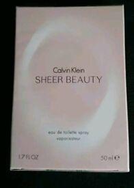 Brand new sealed Calvin Klein Sheer Beauty EDT 50ml