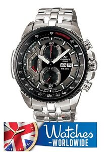 CASIO MENS EDIFICE CHRONOGRAPH WATCH EF-558D-1AVEF - BRAND NEW - UK SELLER !!