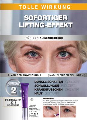 AVON Anew PLATINUM Glättende Augenpflege Emulsion mit Sofortwirkung 15ml NEU