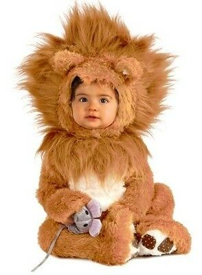 Little Lil Lion Cub Costume Baby Infant Toddler Plush - 0-6M, 6-12M, 12-18M