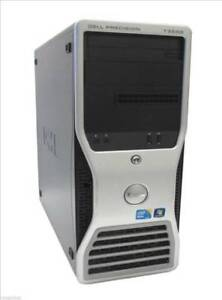 Dell Precision T3500 Windows 7 Ult Xeon CPU 3GB 250GB FX1800