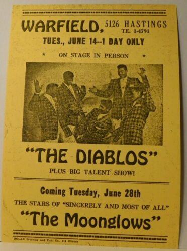 Nolan Strong and  the Diablos at the Warfield - 50