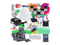 Professional Kit Set ready to Tattoo with Ink