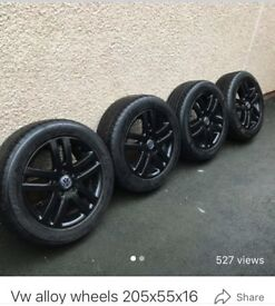 Vw alloy wheels 205x55x16