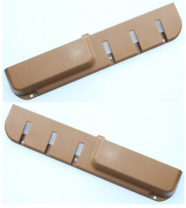 VOLVO-240-door-pocket-map-pocket-beige-color-pair-new-set-of-2-1225943-1225944