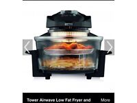 Tower Actifry halogen oven no box have instructions great for healthy eating