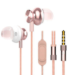 BRAND NEW Pink Rose Gold Earphone