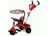 Little Tikes 4 in 1 Red Trike Like New