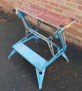 Workmate portable bench / vice, sturdy model