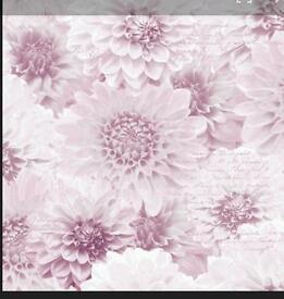 Muriva chrysanthemum wallpaper x3 rolls