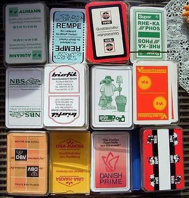 feines Lot Vintage Skatkarten - Landwirtschaft 22 Stück