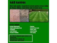G&H Gardens.. Reliable, Competitively priced gardening services