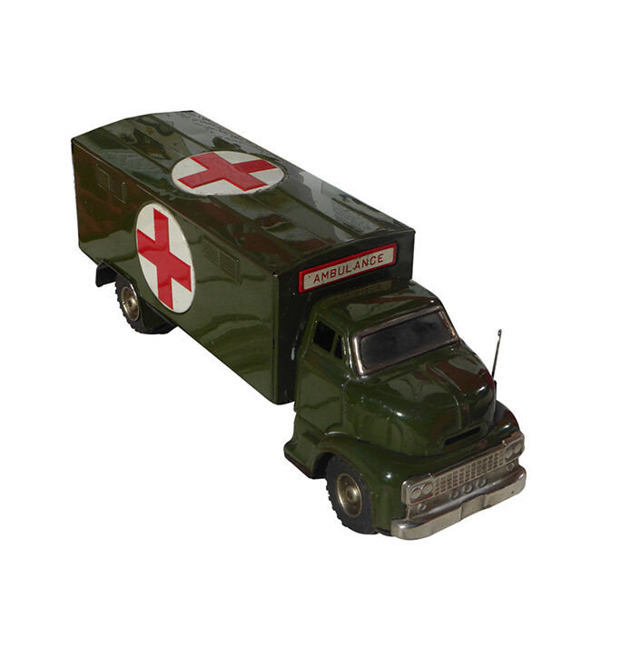 Bandai Tin Toy Cars and Trucks