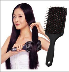 Professional Paddle Tangle Hair Brush Comb Massage Cushion Hairbrush Large