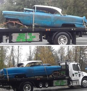 Cash for junk or scrap cars and trucks !!!