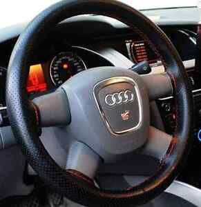 Brand New Car Steering Wheel Cover With Needles and Thread