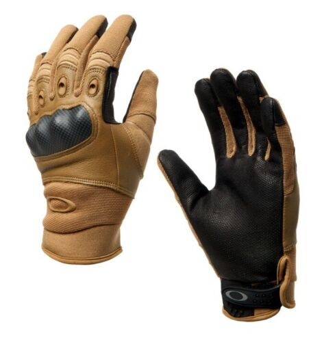 OAKLEY SI Standard Issue Factory Pilot 2.0 Coyote TAA Tactical Military Gloves
