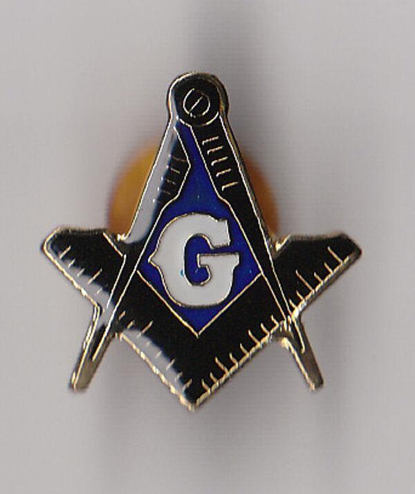 Masonic/Freemason - Hat/Lapel Pin - CLASSIC Square & Compass BACK IN STOCK!