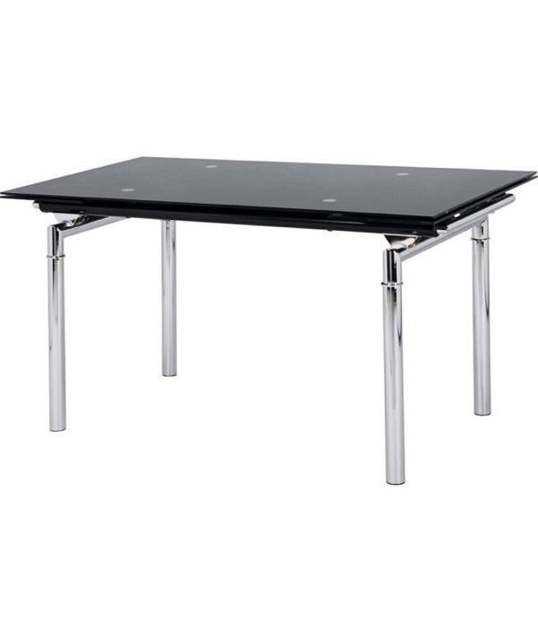 Hygena Savannah Black Glass Extendable Dining Table in  : 86 from www.gumtree.com size 600 x 714 jpeg 13kB