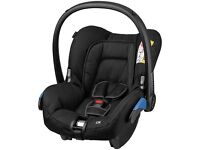 Maxi-Cosi CAR SEAT Group 0+ Seat - Black - Good Clean Condition - BARGAIN! CHEAP! MUST GO! RRP £99