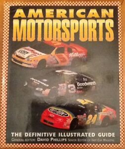 AMERICAN MOTORSPORTS book or 58 racing MAGAZINES $10:AMERICAN M